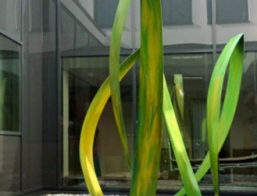 Florale Skulptur